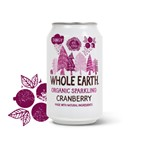Whole earth cranberry tagny organic 330 ml