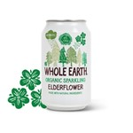 Whole earth elderflower aromatic organic 330 ml