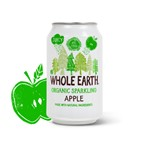 Whole earth organic sparkling apple 330 ml