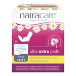 Natracare 3204 ultra extra pads long 8 stk