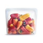 Stasher stand up bag clear 20 x 18 x 9 cm