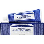 Dr bronner peppermint toothpaste flouride free 140 g