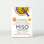 Clearspring ginger & turmeric miso soup 4 x 15 g