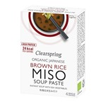 Clearspring brown rice instant miso soup 4x15 gr